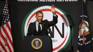 President Obama Addresses The National Action Network's 16th Annual Convention