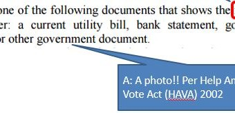 § 163-166.12(a)(2) mandates the types of non-photo ID allowed for voters under NC law. All were driven by HAVA.
