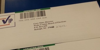 The letter was also sent via certified mail.